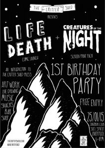 Sunday – The Critter Shed: 1st Birthday 6pm til late @ the Zanzibar Club -- FREE