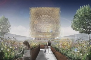 UK Pavilion at Milan Expo 2015: Wolfgang Buttress design