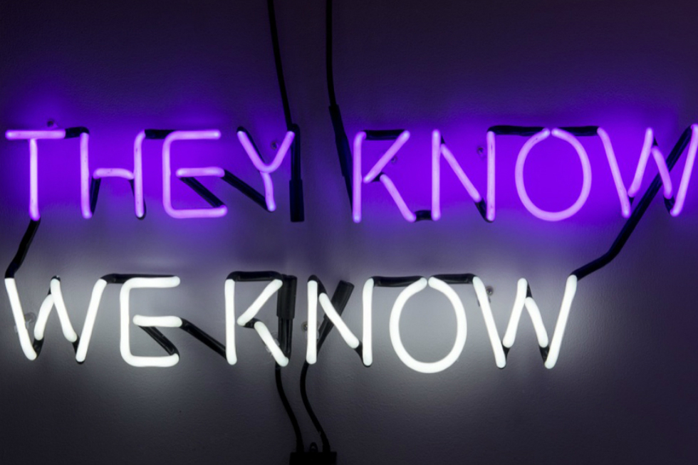 Private View: Tim Etchells: The Facts On The Gound @ Vitrine, London – FREE