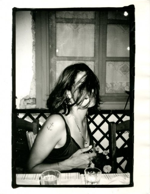 Johnnie Shand Kydd: Tracey Emin, Hydra, July 1998