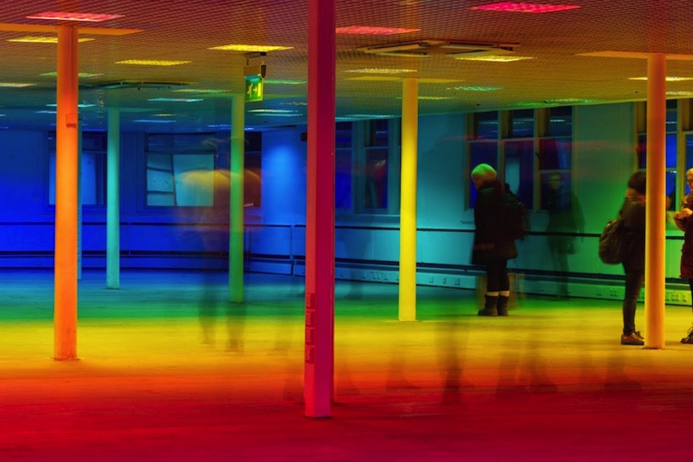 Liz West, Your Colour Perception, Federation House, Manchester (2015)