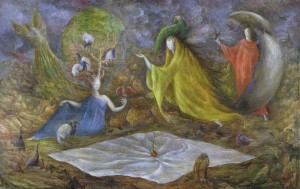 The Pomp, Leonora Carrington
