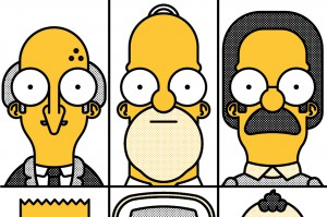 Artwork created for No Homers Club: Artist Of The Month: Spudgun