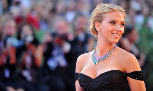 Scarlett Johansson, who will star in a thriller adaptation of The Psychopath Test