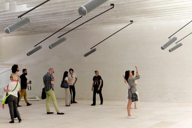 Camille Norment, Rapture, 2015.  Image courtesy Robert Battersby, La Biennale di Venezia 2015