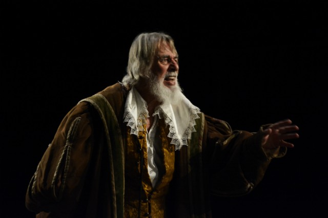 Barrie Rutter as King Lear, Northern Broadsides, 2015