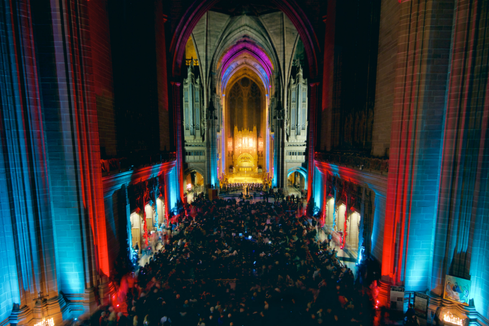 Light Night Liverpool 2015: all images courtesy Rob Battersby for The Double Negative