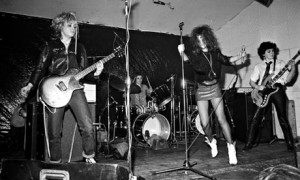 The Slits at Electric Circus, Manchester in 1977