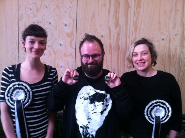 Paying Artists Campagin:  regional advocates (Liverpool) and artists Hannah Bitowski, Flis Mitchell and Kevin Hunt