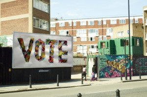 VOTE, by Fatima Begum 2015 (http://voteart.co.uk/)