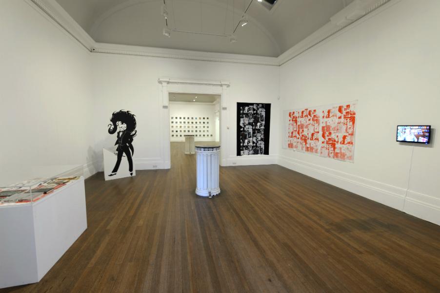 Installation view, Modern History vol. I Grundy Art Gallery, Blackpool, 25 April – 13 June 2015 Photography: Jonathan Lynch