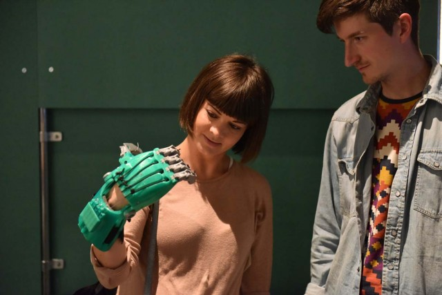 Desktop Prosthetics by DoESLiverpool: Build Your Own: Tools for Sharing at FACT