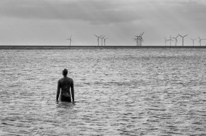 Antony Gormley: Another Place (detail).  Image courtesy Pete Goodbody