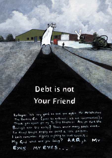 Richard Dinnis's Debt is not your friend; advice to sink in slowly