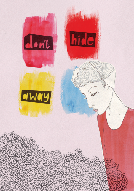 Suzy Phillips's Don't hide away; advice to sink in slowly