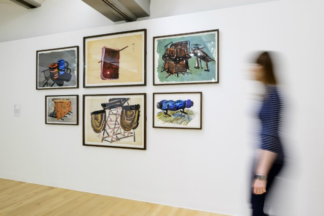 Phyllida Barlow: Untitled 2003, Untitled 1997, Untitled 2003, Untitled 2004, Untitled 1999, Untitled c. 1997–9 (Louise Bourgeois Constellation) © Tate Liverpool, Roger Sinek