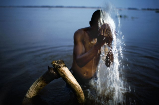 Nyaba Ouedraogo: The Phantoms of Congo River. The Study, Manchester Museum, The University of Manchester'