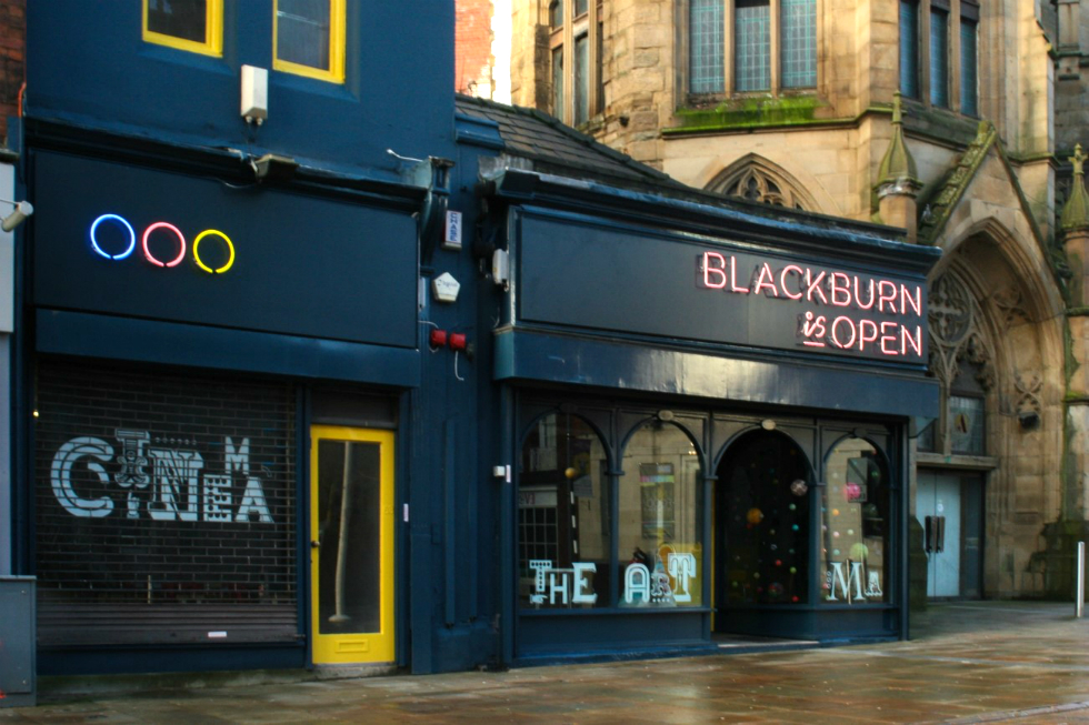 Blackburn is Open