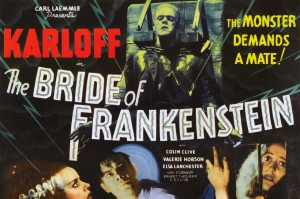 1935 horror The Bride Of Frankenstein