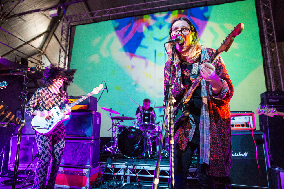 Menace Beach.  Image courtesy Keith Ainsworth for Liverpool International Festival of Psychedelia