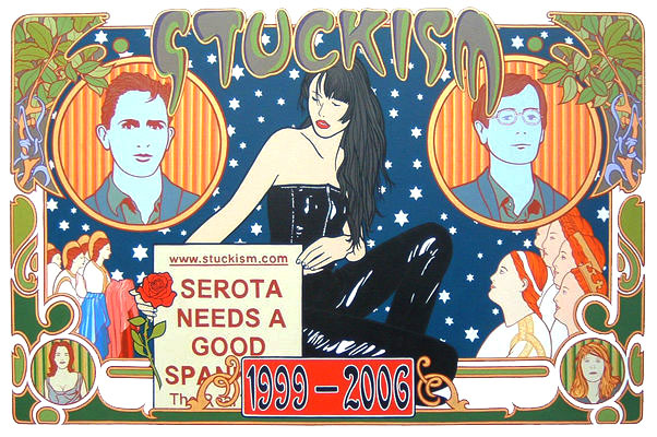 Stuckism 1999-2006 by Paul Harvey http://www.stuckism.com/Harvey/Index.html. Stuckism co-founders, Billy Childish and Charles Thomson (left and right)