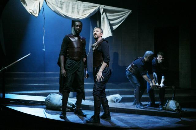 Sule Rimi & Colin Tierney; The Odyssey: Missing Presumed Dead © Gary Calton-slider