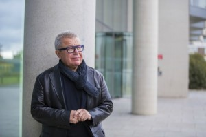 Daniel Libeskind at LJMU School of Art and Design. Daniel Libeskind. Image courtesy Matt Thomas