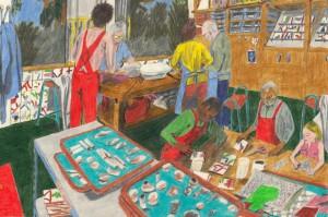 Assemble Workshop, by artist Marie Jacotey