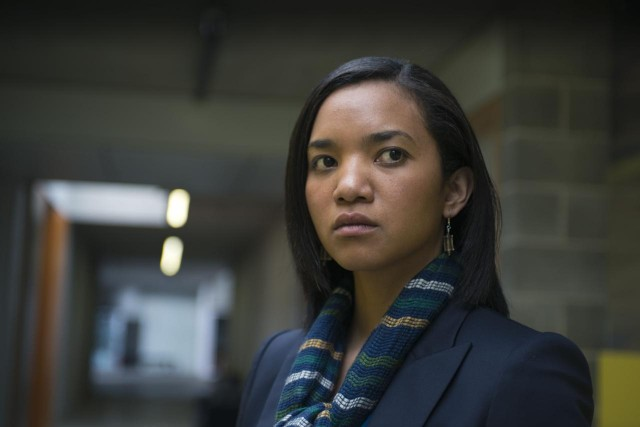 Chipo Chung as Trish Stoddart in Fortitude S01E01