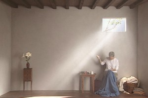 Bill Viola, Catherine's Room, 2001. Photograph by Kira Perov. ARTIST ROOMS Tate and National Galleries of Scotland