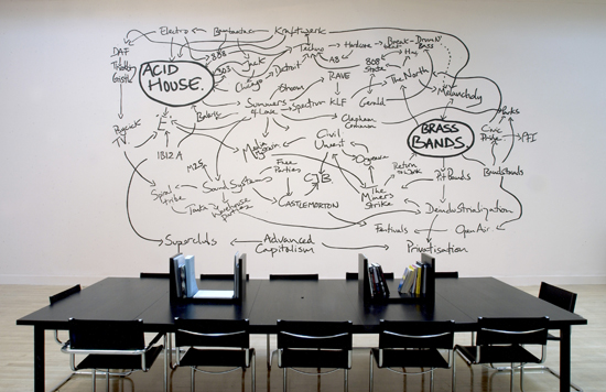 Jeremy Deller's The History of the World (1997-2004), exhibition view, Turner Prize, Tate, London, 2005 © Tate Photography.
