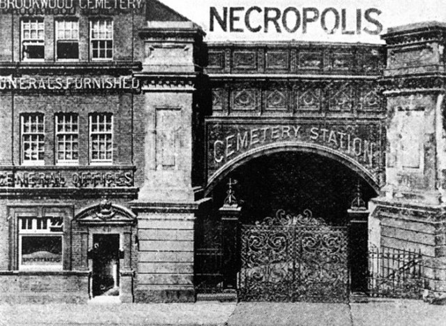 Necropolis Station Entrance Waterloo 1890