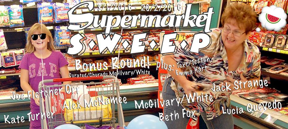 Friday – Exhibition Opening: Supermarket Sweep: Bonus Round! 6-8pm @ P E R I C L O, Wrexham -- FREE