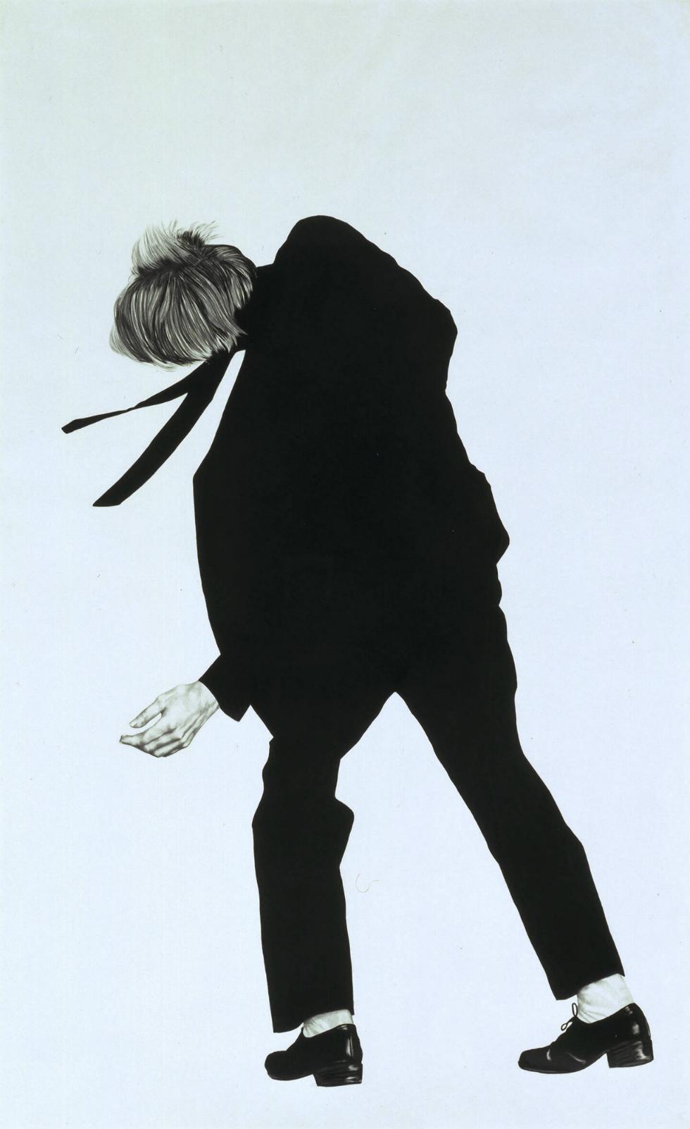 Robert Longo Untitled (Joe) 1981