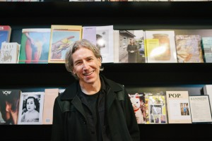 magCulture creative director Jeremy Leslie inside his London store