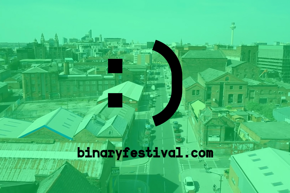 The inaugural Binary Festival: 24 and 25 May 2016, Liverpool, UK