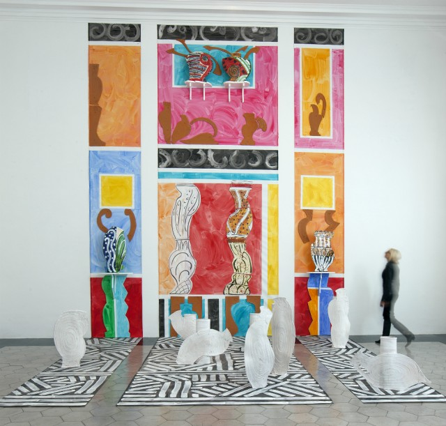 Betty Woodman Roman Fresco 2010. Photo Bruno Bruchi
