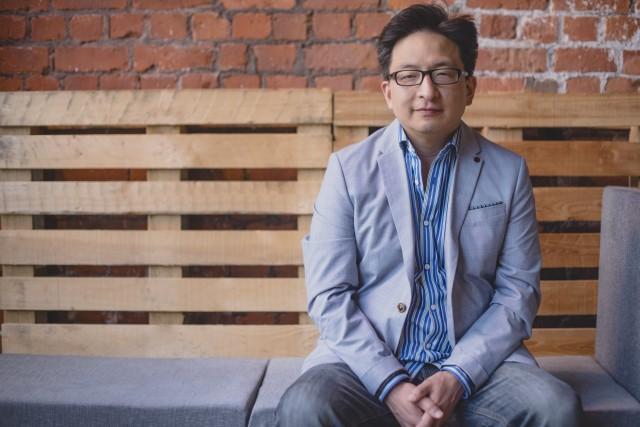 Binary Festival curator Herb Kim. Photo courtesy Binary Festival
