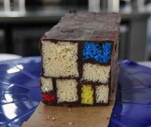 Mondrian Cake - Great Art Bake Off
