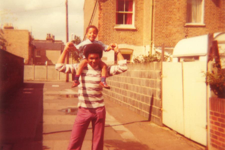 Afro Supa® Hero: Jon Daniel's brothers Tony and