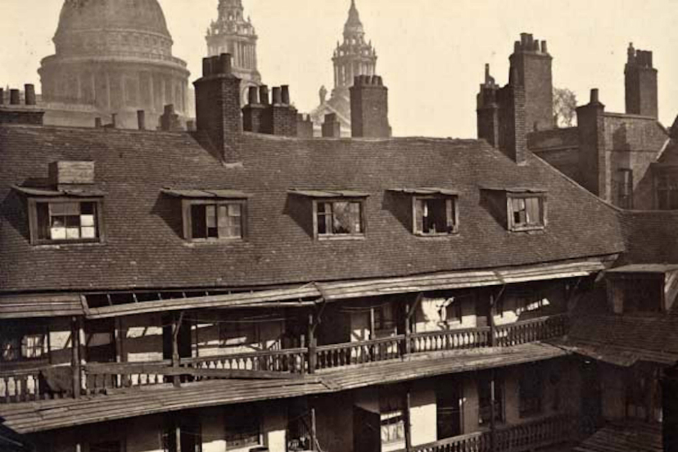 Oxford Arms, London (1875) Demolished around 1876
