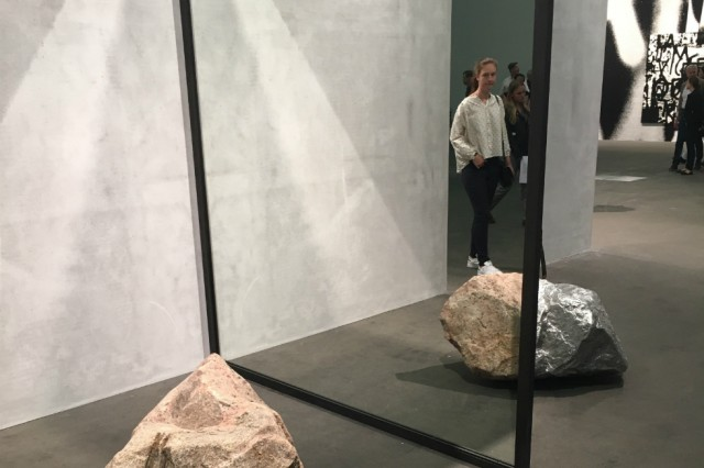 Art Basel 2016: Alicja Kwade¹s Out of Ousia. Courtesy Jack Welsh
