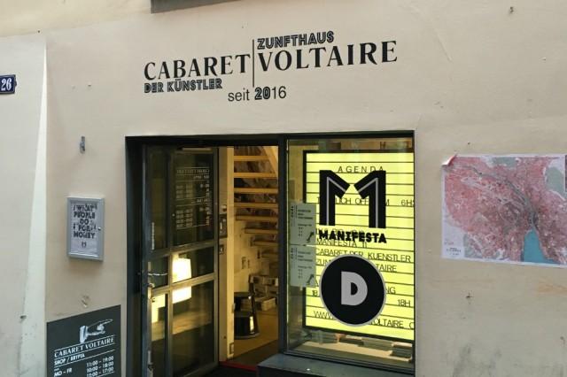 Manifesta 11: Cabaret Voltaire. Courtesy Jack Welsh