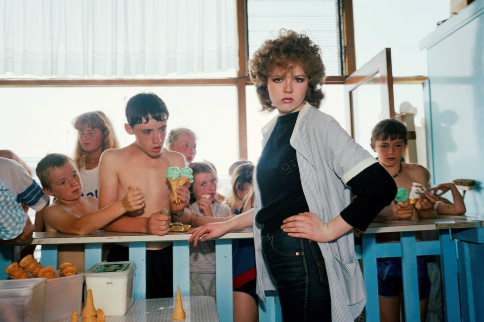 The Last Resort (1985) by Martin Parr (detail)