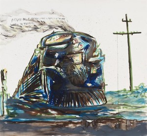 Raymond Pettibon: Bakersfield to Barstow to Cucamonga to Hollywooyd 11am-6pm @ Sadie Coles, London – FREE