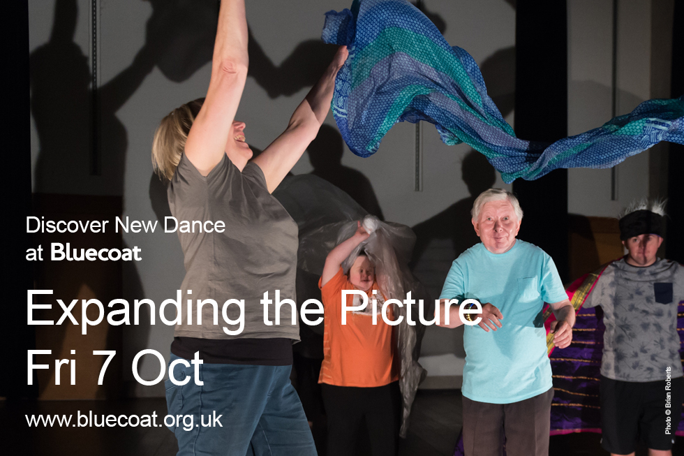 Expanding the Picture: Mary Prestidge, a member of Liverpool Improvisation Collective (LIC), presents an evening of movement based performance.