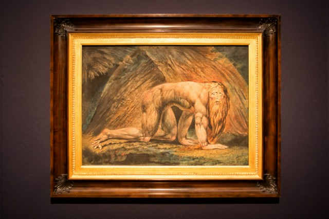 William Blake painting. Tracey Emin and William Blake: In Focus at Tate Liverpool from 18 September 2016-3 September 2017. Install images courtesy Pete Goodbody, with thanks
