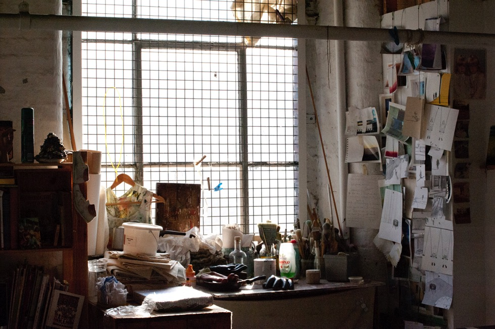 Rogue Artist Studios: interior, courtesy Jan Chlebik