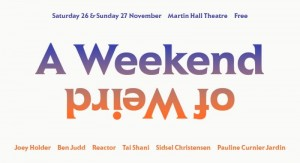 PICK OF THE WEEK: Saturday – Weekend of Weird Programme @ Martin Hall Museum, Loughborough -- FREE