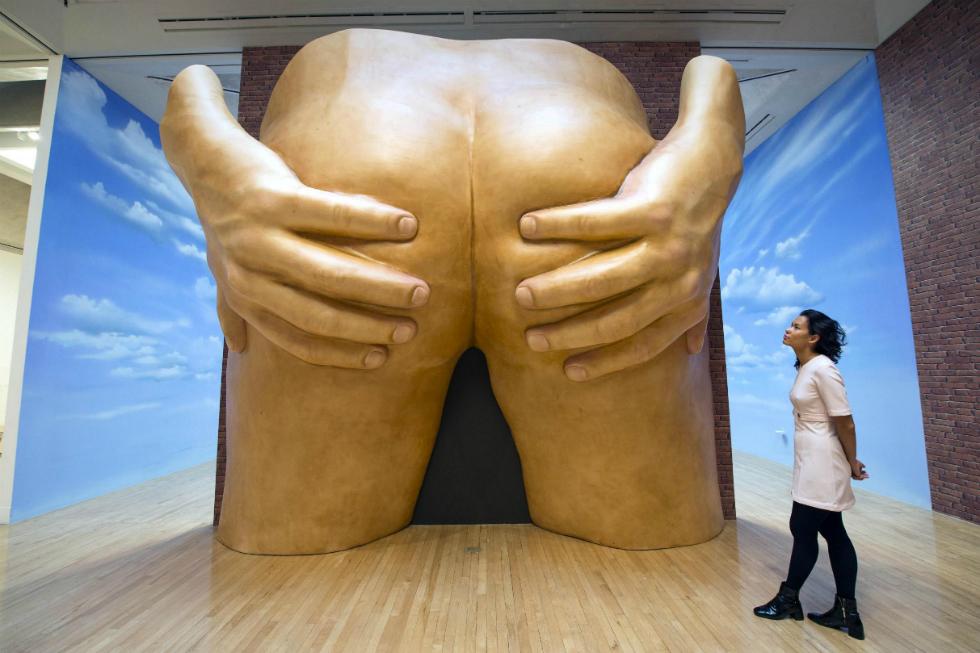 Anthea Hamilton: Lichen! Libido! Chastity!, SculptureCenter, 2015. Anthea Hamilton: Lichen! Libido! Chastity!, SculptureCenter, 2015. Trner-prize-2016-slider